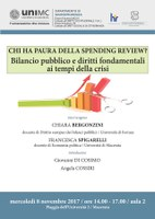 CHI HA PAURA DELLA SPENDING REVIEW? Bilancio pubblico e diritti fondamentali ai tempi della crisi